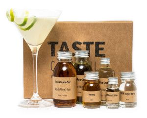 A TASTE cocktail kit in action