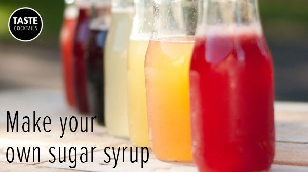 Make your own sugar syrup