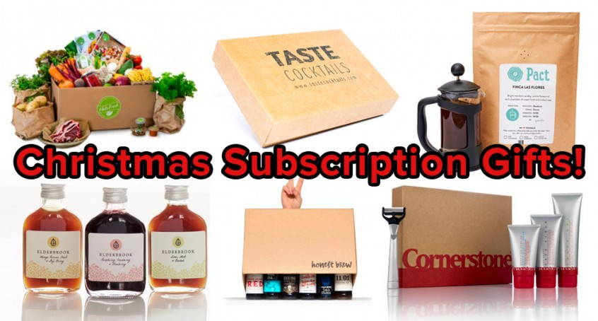 Mail subscription gifts for christmas