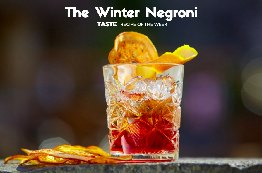 Recipe of the Week: How to Make a Winter Negroni